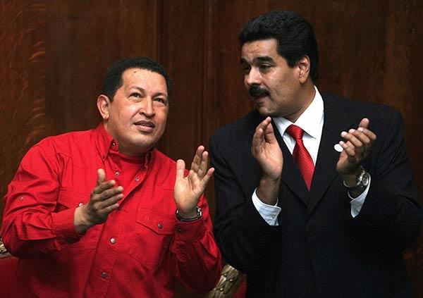Chavez-y-maduro-