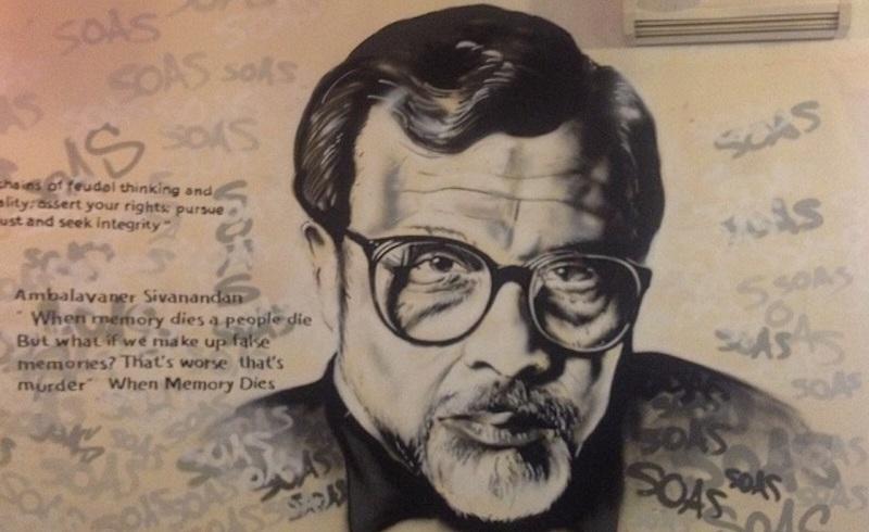 Sivanandan-soas-mural-ceasefire-